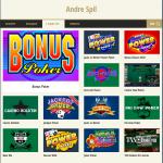 Andre bordspil spil hos Tivoli Casino