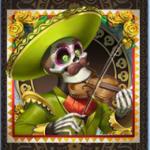 Grim Muerto - symbol violin