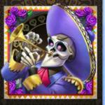 Grim Muerto - symbol trompet