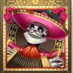 Grim Muerto - symbol pink harmonikaspiller