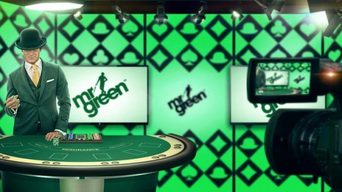 Mr Green Livecasino